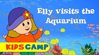 Learn about Sea Animals - Elly Visits an Aquarium!