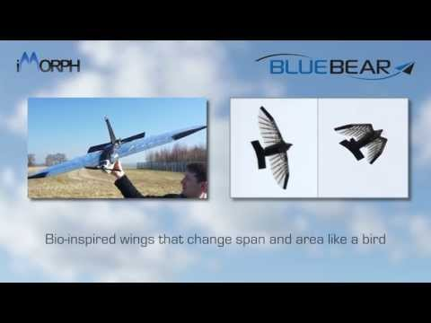 UAV with Wings that Morph Like a Bird