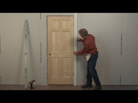 Beginners Learn how to Install a Door in 4 Minutes!