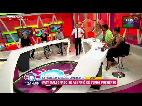Patricia Maldonado jubiló a Yerko Puchento y lo llamó a replantearse como humorista - SQP