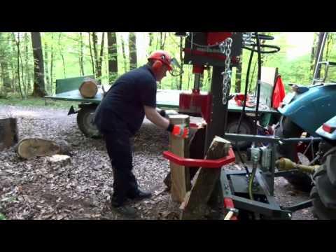 Holzhäuer Holzspalter Bausatz HSP 20 mit Seilwinde