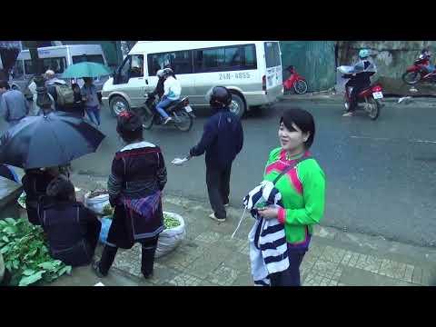 Travel - 2013 trip to Sapa, Vietnam P7. Rov mus saib Hmoob Sapa. (HD)