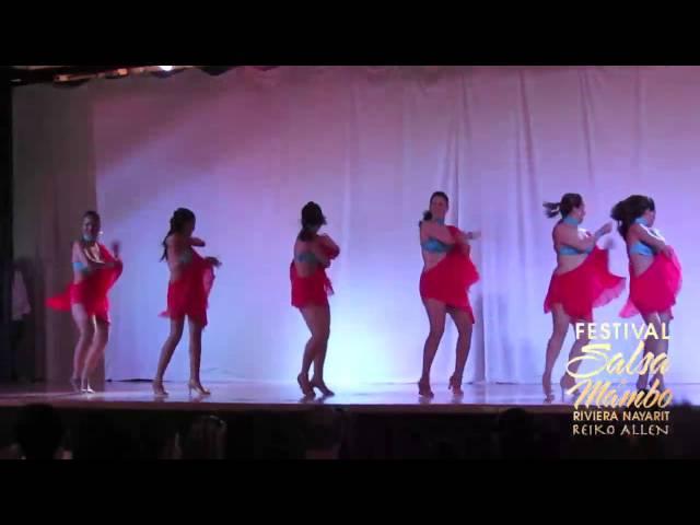 Solseras Pro - Monterrey | Riviera Nayarit Salsa & Mambo Festival 2013