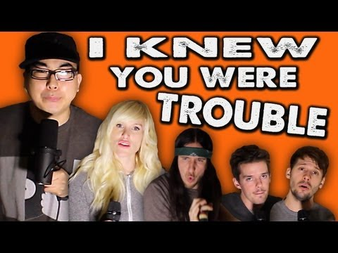 I Knew You Were Trouble - WALK OFF THE EARTH Feat. KRNFX Music Videos