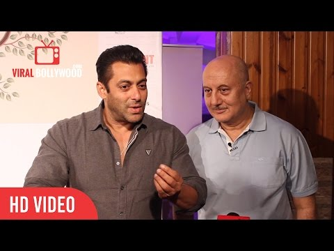 Salman Khan | Interview | Shahrukh Khan Fan Teaser | Anupam Kher Play