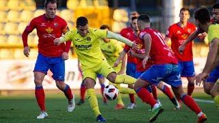 Goles Villarreal B 3 - 0 CD Teruel