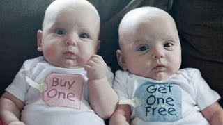 Top 10 Cutest  Twin Babies Videos Compilation
