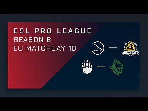 CS:GO: LDLC vs. GODSENT | BIG vs. Heroic - Day 10 - ESL Pro League Season 6 - EU