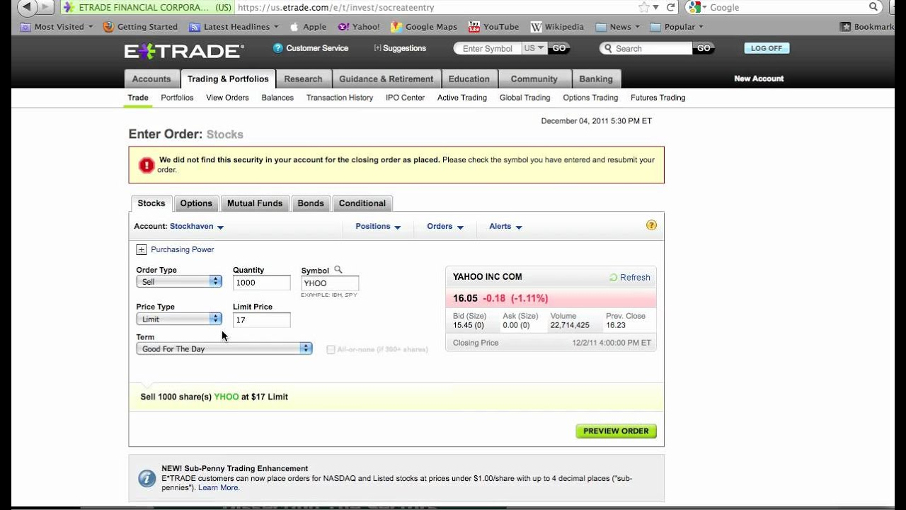 Why can't i trade options etrade