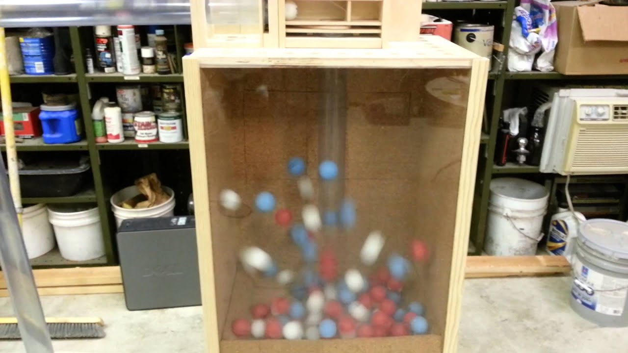 keno balls machine
