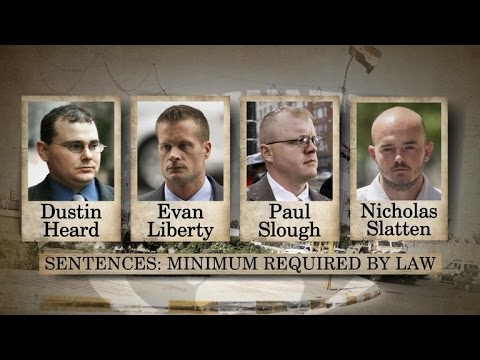 Ex-Blackwater guards sentenced to long prison terms