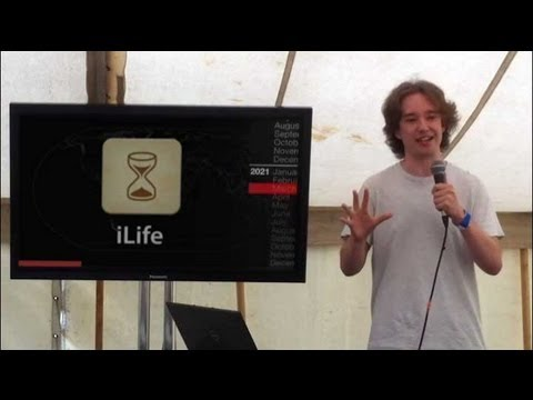 """Is This You?"" - lifelogging, privacy and scandal by Tom Scott at Electromagnetic Field 2012"