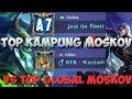 TOP KAMPUNG MOSKOV VS TOP GLOBAL MOSKOV (WARPATH) - JESS NO LIMIT - Mobile Legends