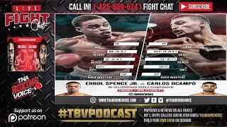 Errol Spence Jr vs Carlos Ocampo LIVE FIGHT CHAT & IMMEDIATE REACTION🥊
