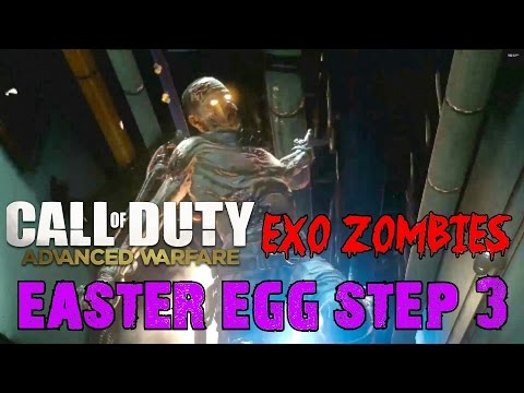 Advanced Warfare EXO ZOMBIES▐ Easter Egg Step 3: John Malkovich's Keycard