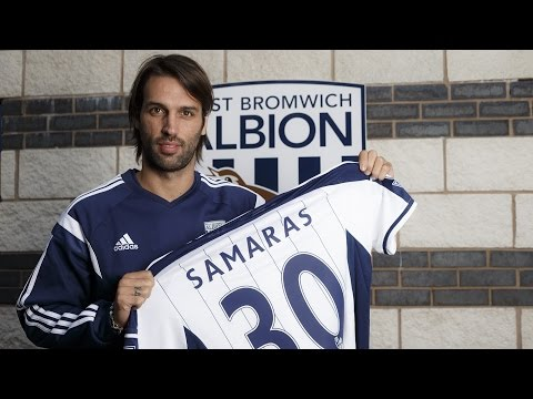 Georgios Samaras is interviewed for the first time as a West Bromwich Albion player