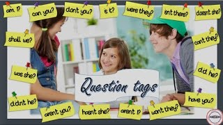 Question tags, Tag Questions Lesson