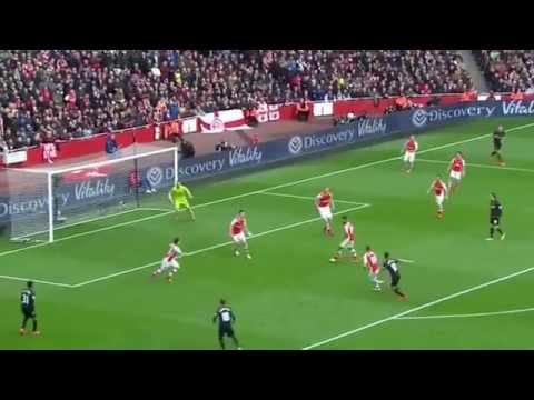 Aaron Ramsey vs Liverpool [4/4/15]