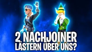 2 NACHJOINER LÄSTERN ÜBER UNS !? 😭 | Fortnite: Battle Royale