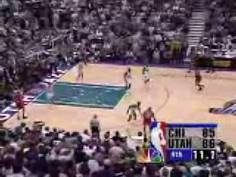 Michael Jordan - NBA Final 1998 (Chicago Bulls Vs Utah ...