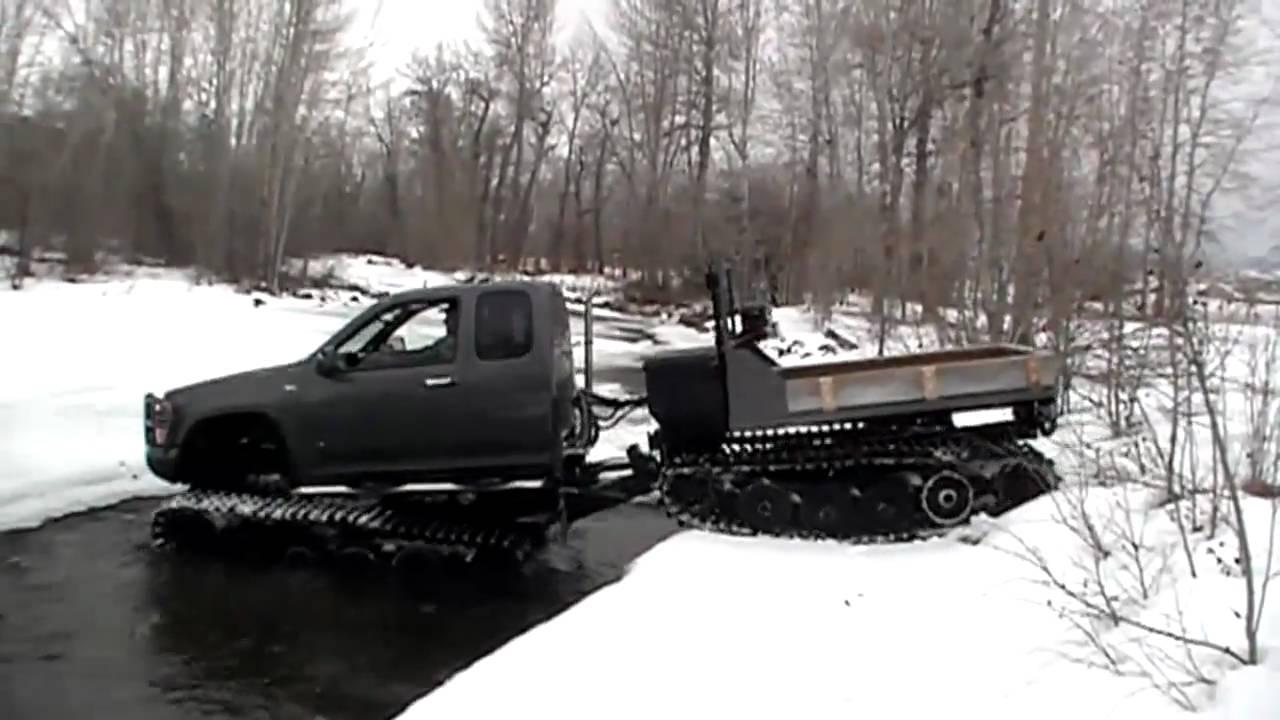 Chevy Colorado - Extreme Hagglunds Ice Breaker - YouTube