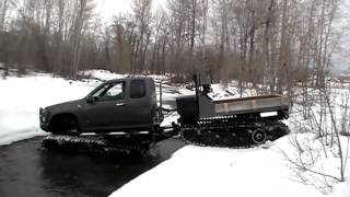 Chevy Colorado - Extreme Hagglunds Ice Breaker