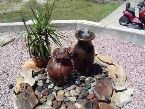 Diy Urn Fountain Garden Pond