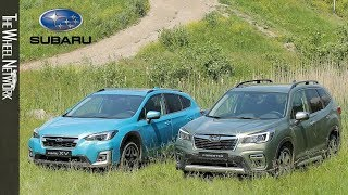 2020 Subaru XV e-Boxer and Forester e-Boxer