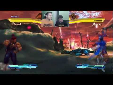PC - StreetFighter X Tekken - Multiplayer com facecam