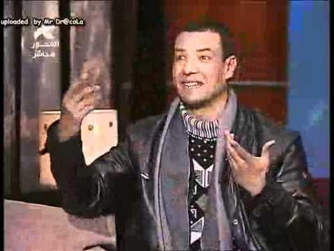 الشاعر الكبير هشام الجخ  في لقاء قناة المحور ثلاث خرفان video