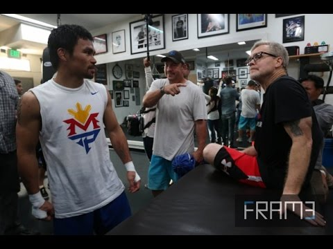UPDATE: Manny Pacquiao Intensifys Training for his last Fight