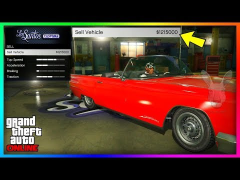 How To Sell Any Street Car For $1,250,000 In GTA 5 Online! (GTA 5 Online Money Glitch) SCAM 1.41