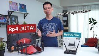 Router Rp200 ribu vs router Rp4 juta!