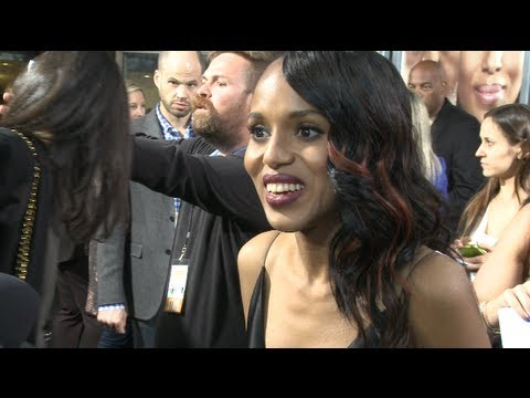 Kerry Washington Shines At 'Peeples' Premiere - HipHollywood.com