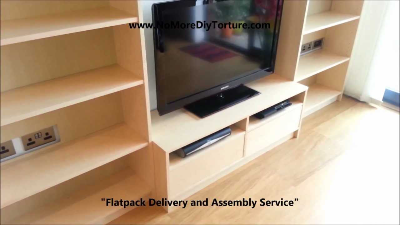 IKEA Billy Benno TV Stand with Storage v2 - YouTube