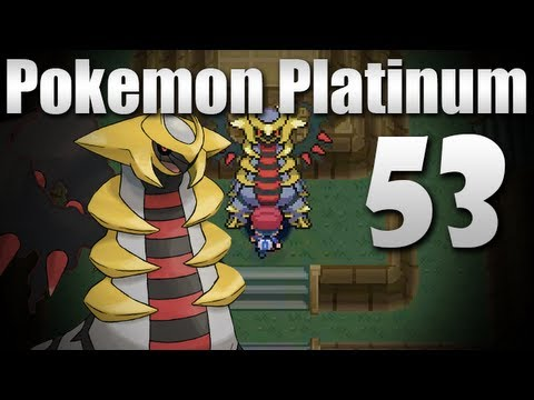 Pokmon Platinum - Episode 53 [Giratina Battle]