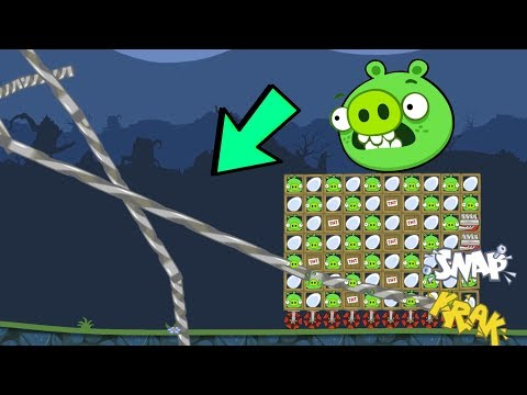 Bad Piggies - STEAL 100 EGG OF ANGRY BIRDS INVENTIONS! PIGGIES DREAM
