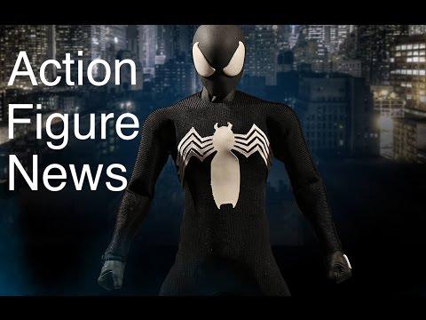 Action Figure News #111 Mezco X-Force DEAPOOL WOLVERINE & BLACK SUIT SPIDERMAN SHF DBZ VAH ZORO