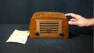 Charles Eames Emerson Radio 1946