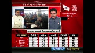 UP Civic Poll Result LIVE: Police Lathi-charge In Muzzafarnagar
