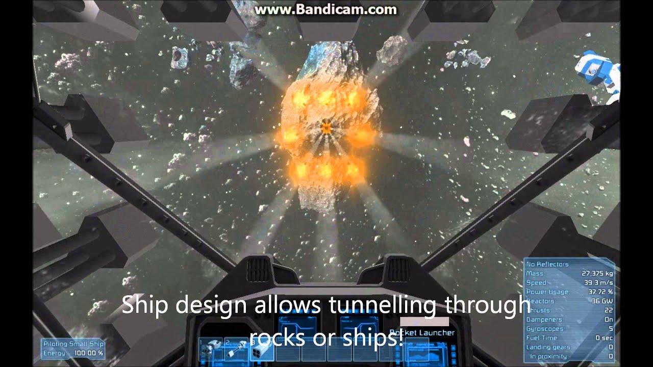 space engineers gatling guns trump thrusters youtube