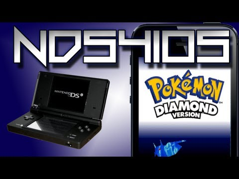 NDS Emulator iPhone 5 Without Jailbreak!