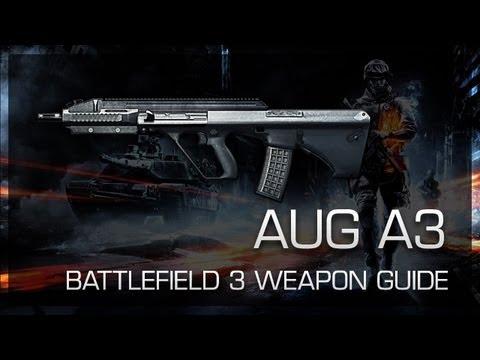 AUG A3 : Battlefield 3 Weapon Guide, Gameplay & Gun Review