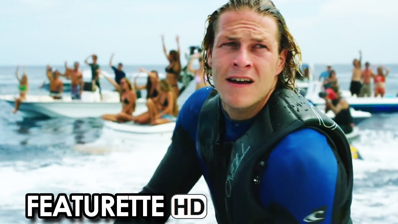 POINT BREAK Featurette 'Surf Action' (2015) - Luke Bracey Action Movie HD