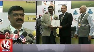 Medchal RTO Officer Srinivas Gets 'Role Of Corporates In Road Safety Award' | Delhi