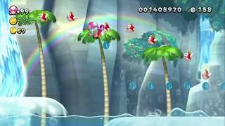 The Great Geysers ~ Sparkling Waters-4 - Toadette -New Super Mario Bros. U Deluxe - New Luigi U