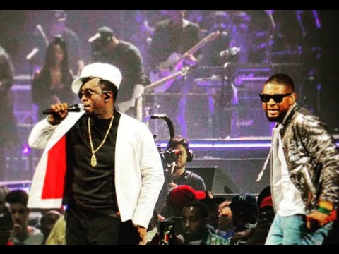 Usher And Diddy Perform I Need A Girl At Bad Boy Reunion Tour Barclays