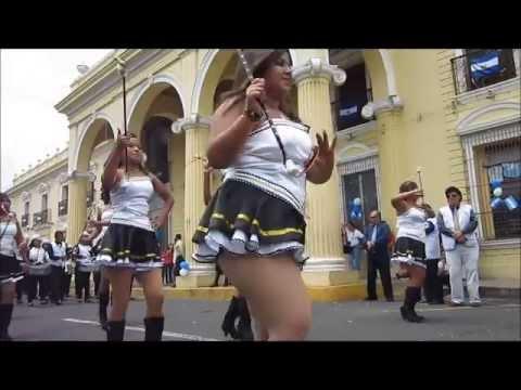 Desfile de independencia Santa Ana 15 Septiembre 2013