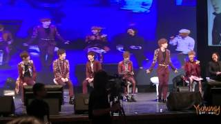 [FanCam] 130421 BOYFRIEND Taiwan FM 2013- Talk Part