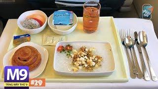 [M9] #29: Ăn sáng hạng thương gia Vietnam Airlines có gì? | Yêu Máy Bay